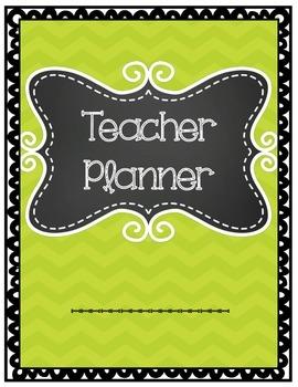Teacher Planner- NOT UPDATED YET