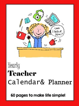 Teacher Planner ***Editable Pages