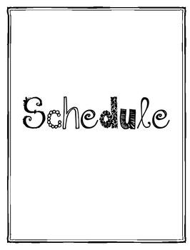 Editable Teacher Planner/Organizer 2016-2017