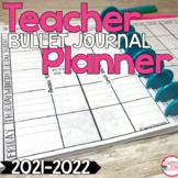Editable Teacher Planner