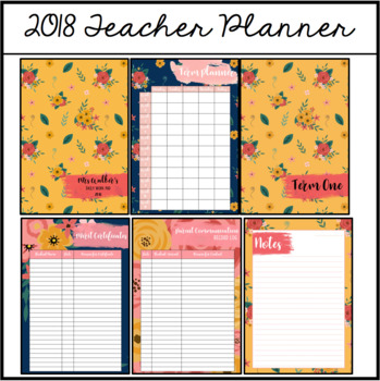 Teacher Planner #9