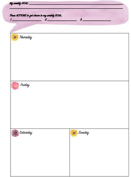 Teacher Planner/ Agenda (Editable)