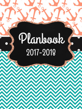 Teacher Planner Anchors Aweigh!