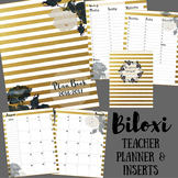 Teacher Binder / Planner: Biloxi