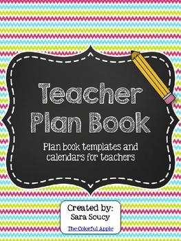 Teacher Planner Binder ~ Editable!