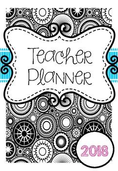 *2017 Update* Australian Teacher Planner Binder - Adult Co