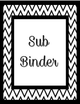 Teacher Planner- Binder covers and spines