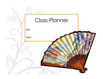 Colorful Teacher Planner