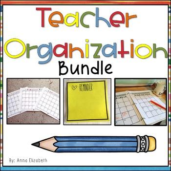 Teacher Organization Bundle