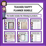 Teacher Planner Bundle