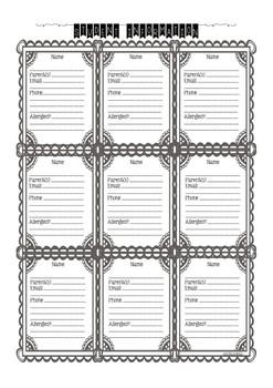 Teacher Planner & Calendar 2017