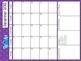 Teacher Planner Calendar Add-On: Seeing Spots