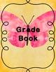 Teacher Planner, Calendar, Grade Book- Butterfly- Editable