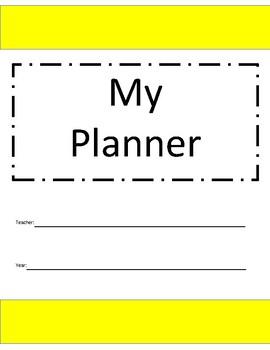 Teacher Planner - Calendar with NO date
