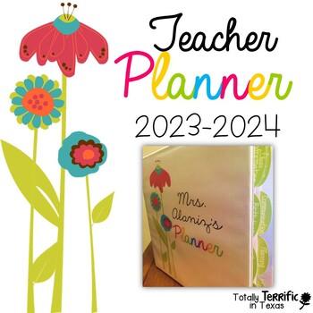 Teacher Planner: Color Splash