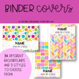Teacher Planner Covers
