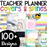 Teacher Planner Covers   Teacher Binder Covers and Spines