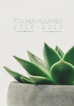 Teacher Planner Custom Covers