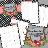 Teacher Binder / Planner: Deer Teacher