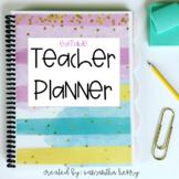 Teacher Planner (EDITABLE)
