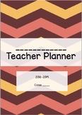 Teacher Planner - EDITABLE