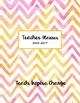 Teacher Planner ~Editable~