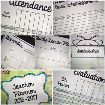 Teacher Planner (English Version)