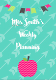 Teacher Planner FREEBIE