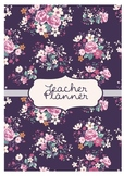 Teacher Planner - Floral
