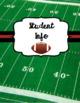 Teacher Planner 2017-2018 Football Theme