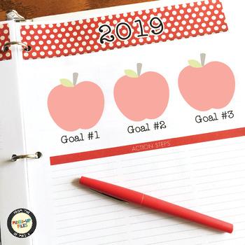 Teacher Planner Free Sample