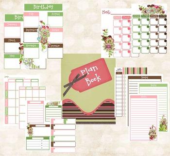 Teacher Planner Frog Theme