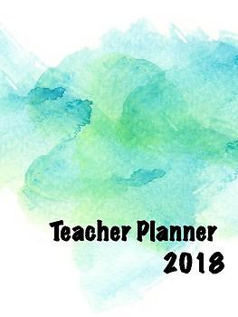 Teacher Planner - Green Tea