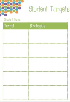 Teacher Planner - Hexagon Theme