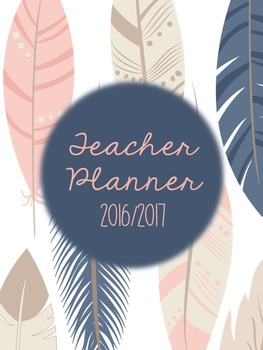 Teacher Planner (Including Sub Pages)