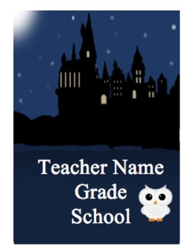 Teacher Planner - Lesson Plans, Calendar  & More! Everything! Harry Potter