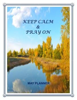 """Bible Verse """"May"""" Planner -  Print & Plan!"""