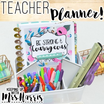 Teacher Planner - Organizational Teacher Binder