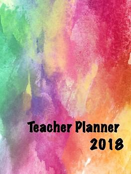 Teacher Planner - Over the Rainbow