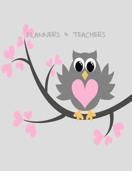 Teacher Planner: Owl Daily Planner in FRENCH