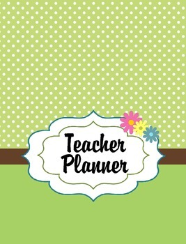 Teacher Planner (Owl Theme) 2017-2018