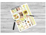 Teacher Planner PRINTABLE - Woodland Animal Stickers