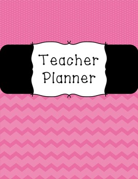 Teacher Planner - Pink