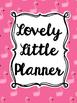 Teacher Planner: Pink Flamingo (Editable)