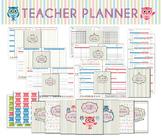 Teacher Planner, Printable Lesson Planner, Teacher Planner