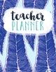 Teacher Planner // Purple Floral - PRINTABLE AND EDITABLE