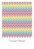 Teacher Planner - Rainbow