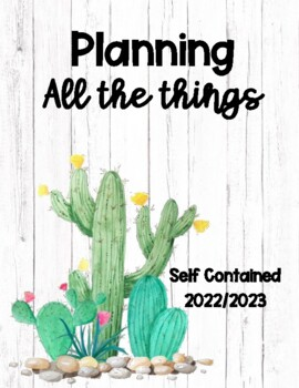 Teacher Planner Self Contained 2017-2018