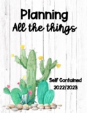 Teacher Planner Self Contained 2019-2020