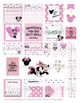 Teacher Planner Sticker PRINTABLE - Minnie Mouse